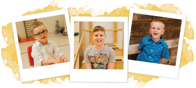 Three Photos of KidsAbility Ambassadors