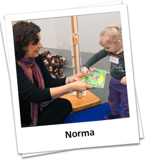 Speech therapy with a child